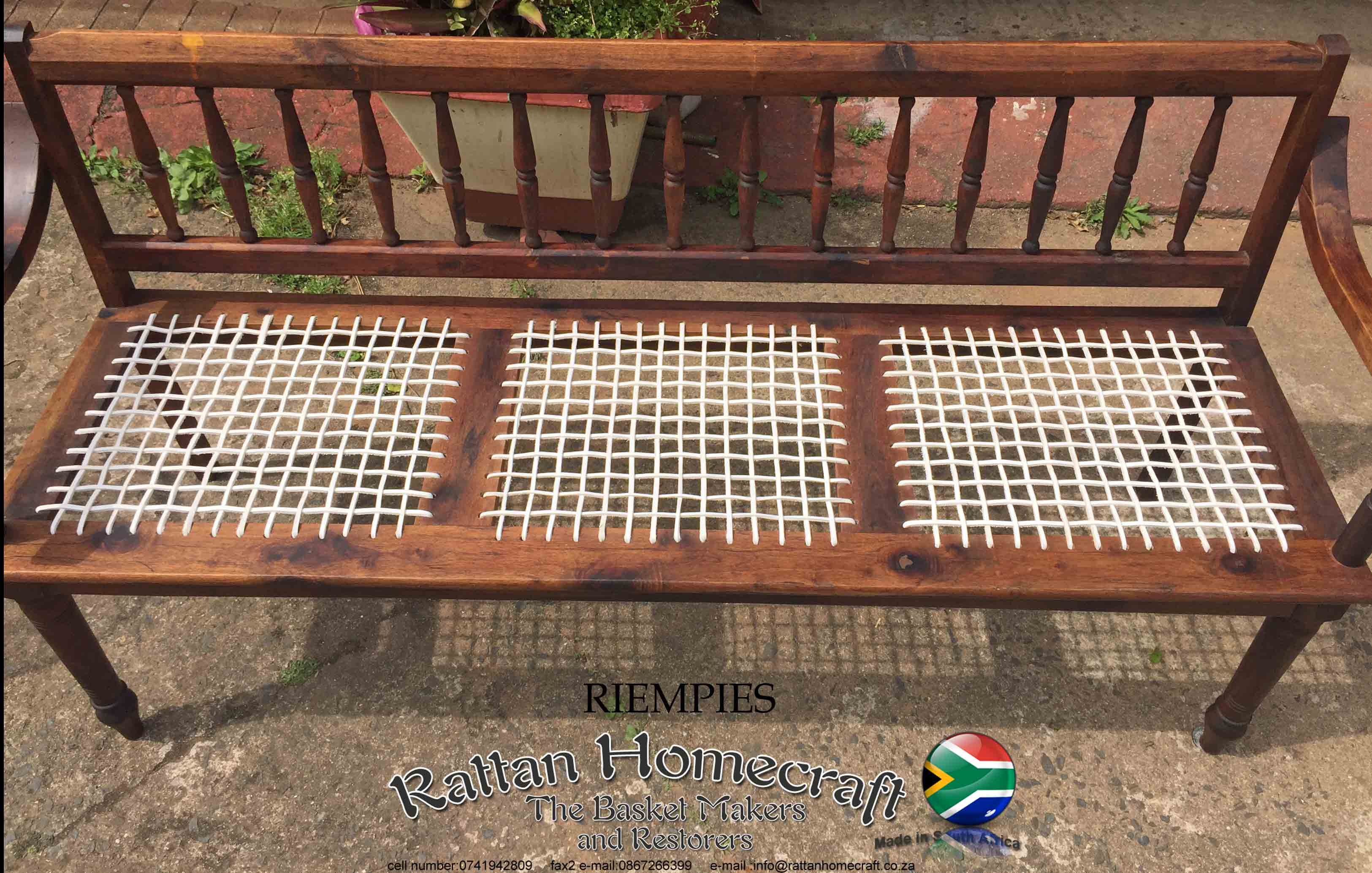 Synthetic Cane Furniture Repairs Rattan Home Craft